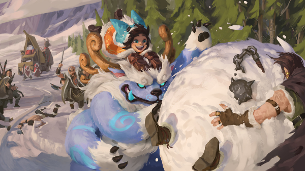 Nunu & Willump Full AP are capable of dealing massive damage, possibly Oneshot opponents