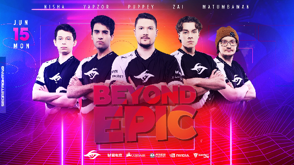 The secret has a good performance at Beyond Epic