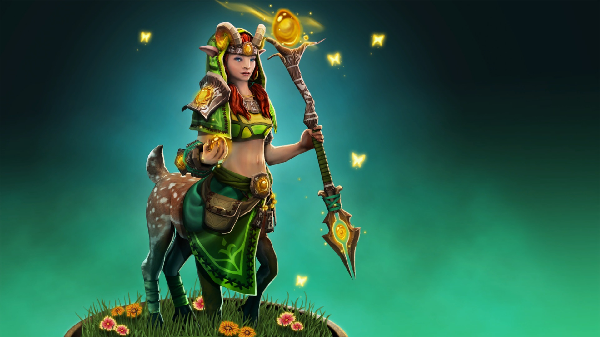 Enchantress in DOTA 2