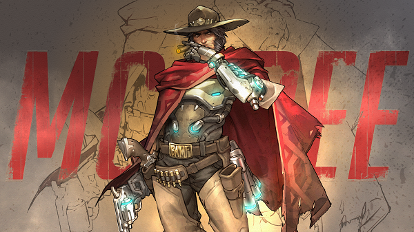 Instructions on how to play McCree in Overwatch