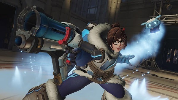 Instructions on how to play Mei in Overwatch