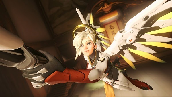 Instructions on how to play Mercy in Overwatch