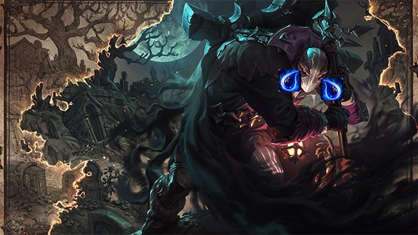 Yorick is a champion who has a stronger power in champions system of LoL