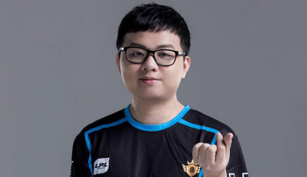 He is the one chosen to appear on the Riot Games avatar