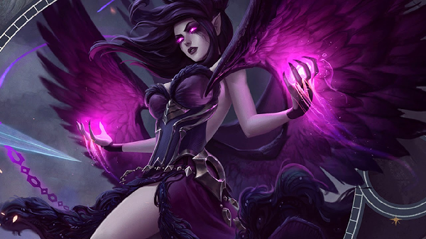 "However, the present time is not the time when you put ""Fallen Angel"" off your list of champions. She really is a huge pick in the bot lane and can help you check many rankings."