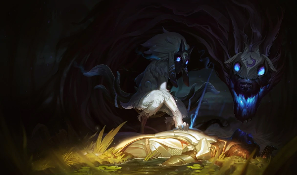 Kindred is one of the champions that have good skill in League of legend