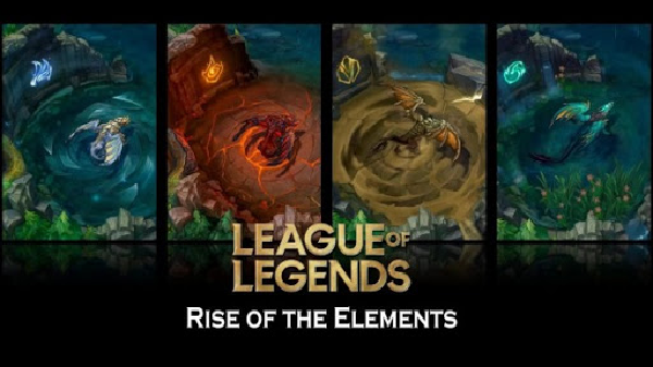 Rise of the element Dragon in League of Legends