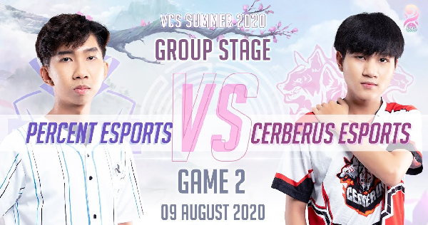 Percent Esport vs Cerberus Esport results in 9/8