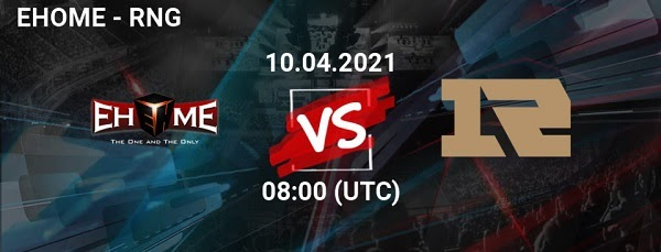 EHOME vs RNG prediction